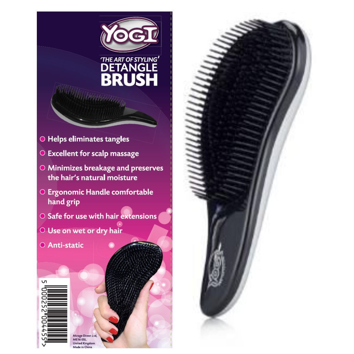 Yogi Detangle Brush Yogi Hair Wand